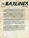 Casco Bay Lines : The Bayliner, Fall 1982