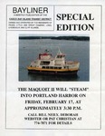 Casco Bay Lines : The Bayliner, February 1995