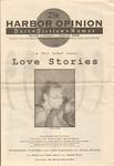 Harbor Opinion : Vol 1, No 1 - Feb 2000 by Jenny Ruth Yasi