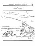 Michael Mitton's Merman. by John M. Plummer