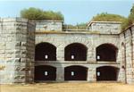Fort Gorges, Enclosure Detail.