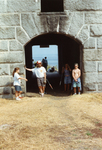 Fort Gorges Detail, with Visitors.