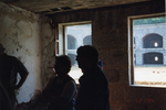 Visitors at Fort Gorges.