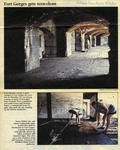 Fort Gorges Gets Teen-Clean, 1997. by David A. Rodgers