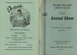 Peaks Island Lions Club : 38th Annual Show by Don Mills and Nancy Hoffman