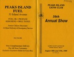 Peaks Island Lions Club : 50th Annual Show by Peaks Island Lions Club