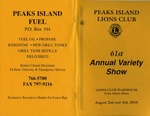 Peaks Island Lions Club : 61st Annual Variety Show
