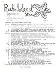 Peaks Island Star : July 1981, Issue 8 by Service Agencies of the Island