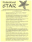 Peaks Island Star : November 1986, Vol. 6, Issue 11 by Service Agencies of the Island