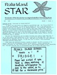 Peaks Island Star : May 1987, Vol. 7, Issue 5 by Service Agencies of the Island