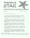Peaks Island Star : Ocotber 1987, Vol. 7, Issue 10 by Service Agencies of the Island