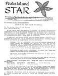 Peaks Island Star : October 1988, Vol. 8, Issue 10