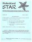 Peaks Island Star : November 1988, Vol. 8, Issue 11 by Service Agencies of the Island