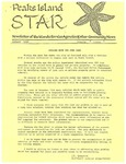 Peaks Island Star : January 1989, Vol. 9, Issue 1 by Service Agencies of the Island