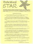 Peaks Island Star : January 1989, Vol. 9, Issue 1