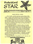 Peaks Island Star : October 1989, Vol. 9, Issue 10