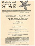 Peaks Island Star : April 1990, Vol. 10, Issue 4 by Service Agencies of the Island