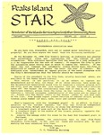 Peaks Island Star : January 1991, Vol. 11, Issue 1