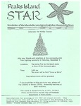 Peaks Island Star : December 1994, Vol. 14, Issue 12 by Service Agencies of the Island