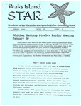 Peaks Island Star : January 1996, Vol. 16, Issue 1 by Service Agencies of the Island