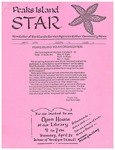 Peaks Island Star : April 1996, Vol.16, Issue 4