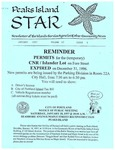 Peaks Island Star : January 1997, Vol. 17, Issue 1 by Service Agencies of the Island