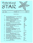 Peaks Island Star : July 2001, Vol. 21, Issue 7 by Service Agencies of the Island