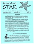 Peaks Island Star : November 2003, Vol. 23, Issue 11 by Service Agencies of the Island
