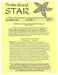 Peaks Island Star : November 2005, Vol. 25, Issue 11