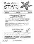 Peaks Island Star : April 2014, Vol. 34, Issue 4 by Service Agencies of the Island