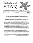 Peaks Island Star : September 2014, Vol. 34, Issue 9 by Service Agencies of the Island