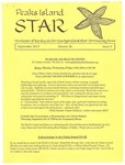 Peaks Island Star : September 2016, Vol. 36, Issue 9 by Service Agencies of the Island