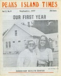 Peaks Island Times : Sep 1977 by Gary Chapman