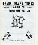 Peaks Island Times : Mar 1978