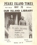 Peaks Island Times : May 1978 by Tim Fitzgerald