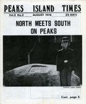 Peaks Island Times : Aug 1978 by Tim Fitzgerald