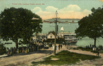 Forest City Landing, Peaks Island, 1908.