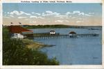 Trefethen's Landing, Peaks Island.