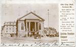 Old City Hall : Portland Maine, 1825.