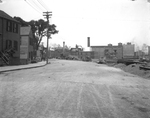 York Street Between Park and High Streets, Looking East, McDonald Mfg. (54-56 York) at Center