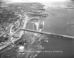 "Portland Bridge (""Million Dollar Bridge""), from southwest, ca.1960"
