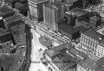 Monument Square and vicinity from east, ca.1936