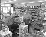 Model Foods Market, interior, 1972