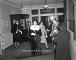 Evening Social Event at Frye Hall, 1941