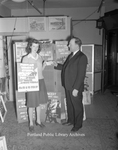 Poster Contest Winner at Frye Hall, 1942