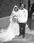 Mr. and Mrs. John Robert Mooradian, 1947.