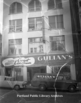 Gulian's Floor Coverings store, 1958.