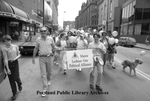 Parade Through Portland Expresses Gay Pride, 1987