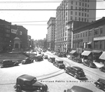 Monument Square, Downtown Portland : 1938