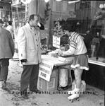 Sidewalk scene, Owen Moore Department Store : 1963